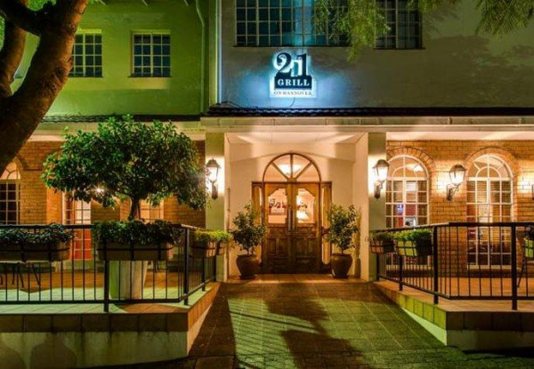 Protea Hotel Ryalls 21 Grill on Hanover Entrance