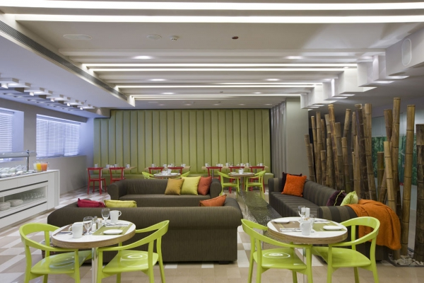 Sadot Hotel , Ben Gurion Airport - an Atlas Boutique Hotel lobby and business lounge