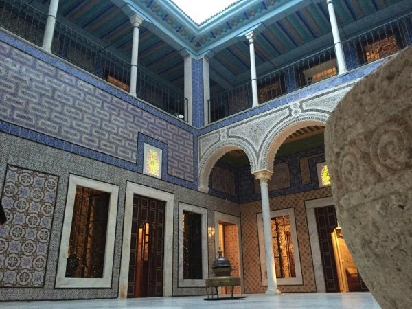 The Knowledge Palais Bayram The Knowledge Palais Bayram is located in the Medina of Tunis.