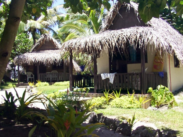 Ha'atafu Beach Resort Accommodation Fales