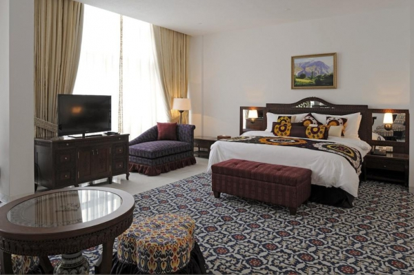 Dushanbe Serena Hotel Room