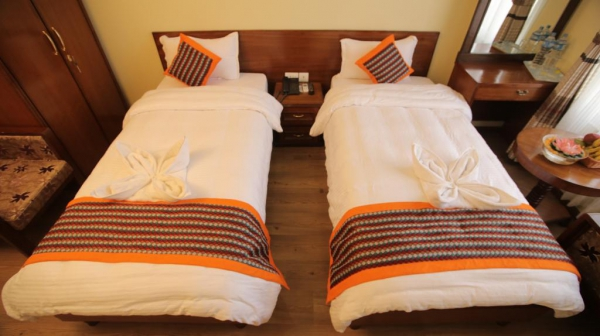 Hotel Osho Home Deluxe Twin Room