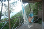 Jungle Bay, Dominica Relax in your hammock on the balcony